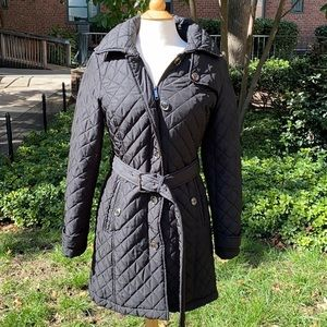 Michael Michael Kors Black Quilted Jacket